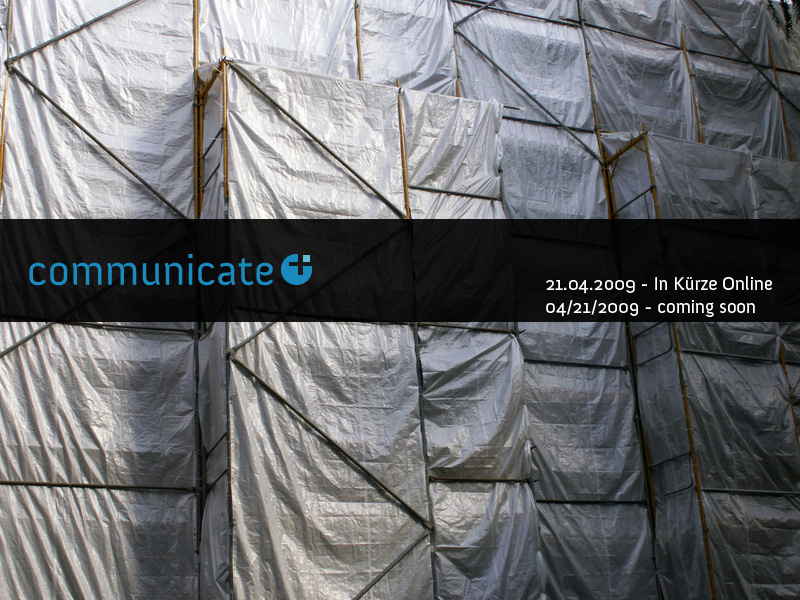 communicatePlus - coming soon